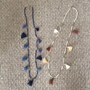Jewelry - Set of 2 Tassel Necklaces